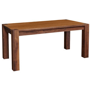 6 Person Solid Walnut Dining Table