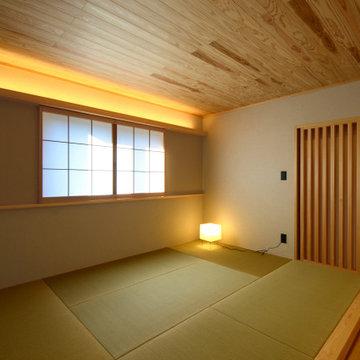 赤坂台の家(豊川市)寝室