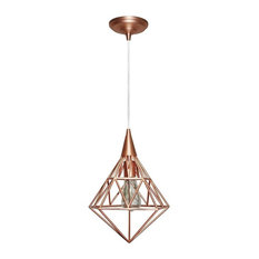 worth home products geometric pendant light copper pendant lighting cage pendant lighting