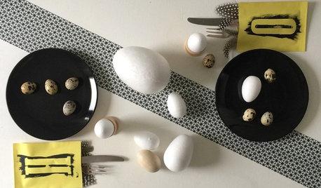 DIY : Fabriquez des pochettes à couverts pour votre table de Pâques