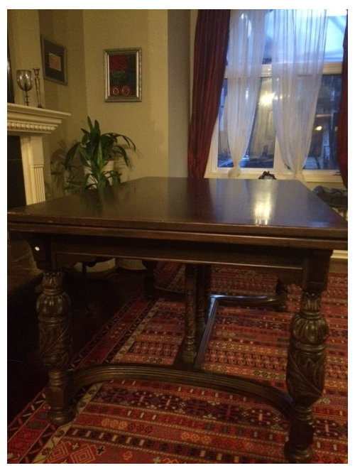 Awesome Need Help Picking Out Chairs For This Antique Dining Room Table Squirreltailoven Fun Painted Chair Ideas Images Squirreltailovenorg