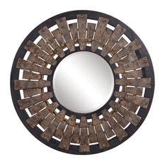"""Uttermost 09577 Hyman - 31.7"""" Round Mirror"""