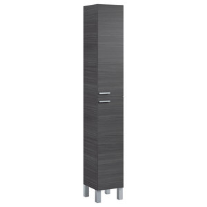 Koncept Column Bathroom Cabinet, Ash Grey