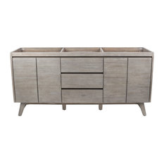 "Avanity Coventry 72"" Vanity Only, Gray Teak Finish"