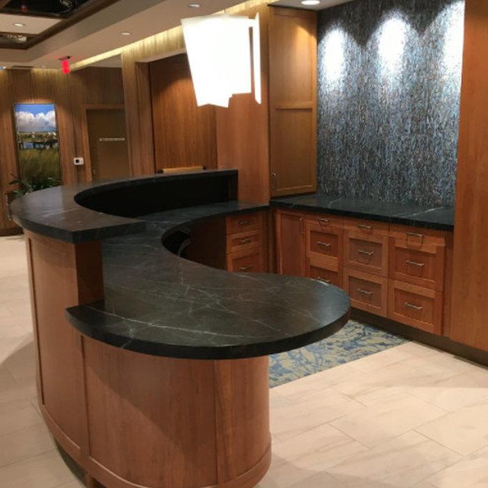 Pasadena Soap Stone Lobby Counters