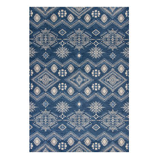 "Carmen Denim Journey Rug, 2'7""x4'11"""