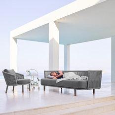 minimalist outdoor furniture. moments 3 seat sofa outdoor lounges minimalist furniture