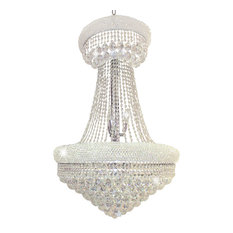 Artistry Lighting, Primo Collection Chandelier 1800SP-2836, Chrome