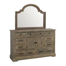 Meadow Door Dresser, With Mirror