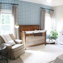 A Sweet Baby Boy Nursery