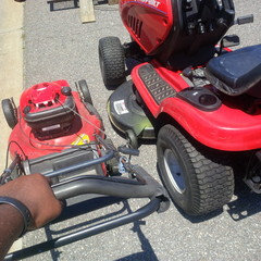 How long before your CHEAP lawn tractor fell apart.