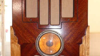 Wifi and Bluetooth Art Deco sound system