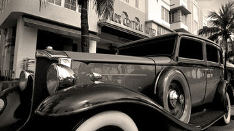 1932 Packard 443 Limo - Park Central Hotel - Miami Beach - Florida