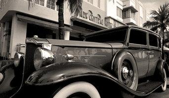 1932 Packard 443 Limo - Park Central Hotel - Miami Beach - Florida