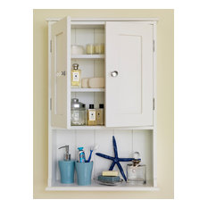 New England Bathroom Cabinet with Shelf