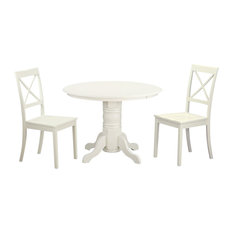 3-Piece Dining Room Set Kitchen Dinette Table And 2 Chairs