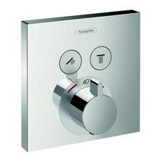 - 埋込式サーモスタットバス・シャワー混合水栓(化粧部) - シャワーパネル