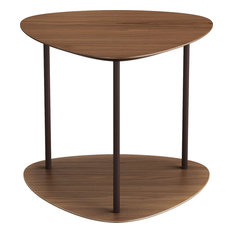 Finsbury Side Table, Walnut and Java