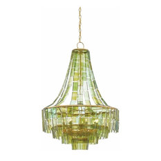 Currey and Company 9000-0147 Vintner 7 Light Draped Chandelier