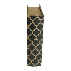 Trellis Deco Storage Book, Medium