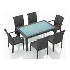 District 7 Piece Dining Set, No Cushions