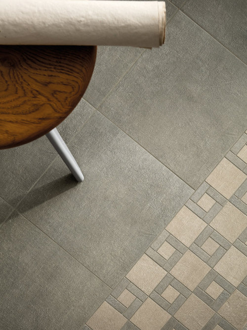 Fly Zone Fiber Porcelain Tile Series - Salvia 12x12, Tortora with Salvia 12x12 M - Wall And Floor Tile
