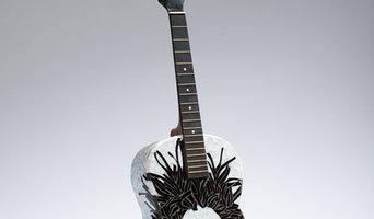 Bob Dylan Mosaic Guitar