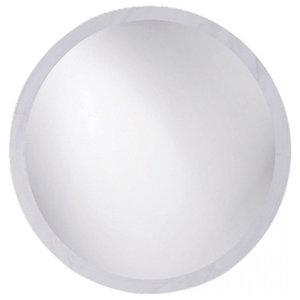 Round Beveled Frameless Mirror