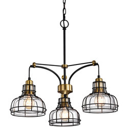 Industrial Chandeliers by Edvivi Lighting