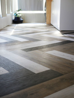 Can You Install Floating Luxury Vinyl Tile In A