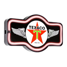 Vintage Texaco Marquee LED Light Up Sign
