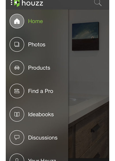 inside houzz take houzz anywhere with the new mobile app