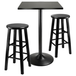 Transitional Indoor Pub And Bistro Sets by BisonOffice
