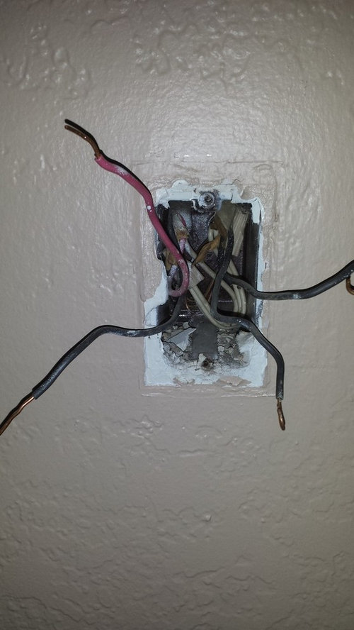 Light switch has 2 hot wires