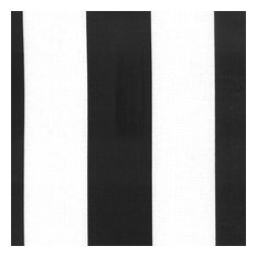 Deck Stripe - Outdoor Fabric, Black & White