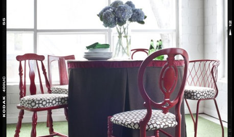 DIY Project: Sit Pretty with Mismatched Chairs