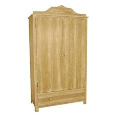 Calys 2-Door Wardrobe, Golden Brown