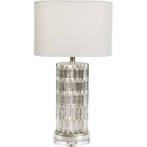 Amity Table Lamp, Silver