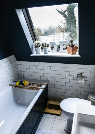 10 jolies fa ons d 39 int grer des plantes sa salle de bains. Black Bedroom Furniture Sets. Home Design Ideas