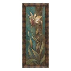 """""""Teal Flower II"""" Framed Art"""