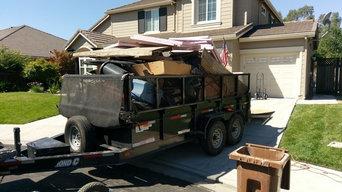 Various junk removal jobs.