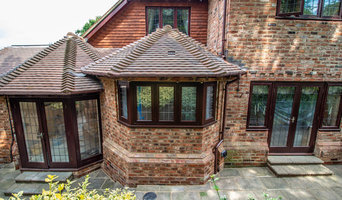 Extension with Laura Ashley country style kitchen