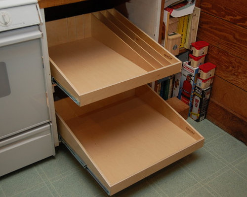 Base Cabinets and Other Creative Solutions - Kitchen Drawer Organizers