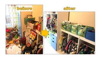 神戸市灘区Wさま邸-子供部屋服収納