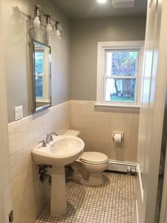 Paint Color Suggestions For My Dated Beige Almond Bathroom