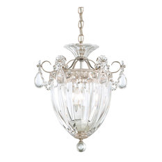 Bagatelle 3-Light Pendant, Heirloom Gold, Clear Heritage Crystal