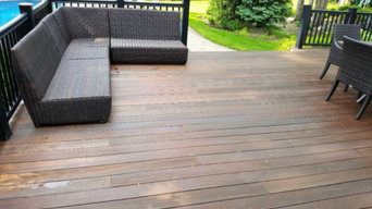 Deck Painting & Staining