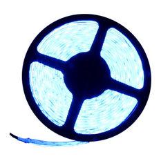 5054SMD Blue Super Bright Flexible LED Light Strip 16' Reel, Reel Kit