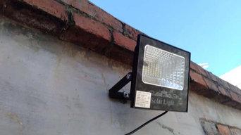 outdoor solar lighting led lighting