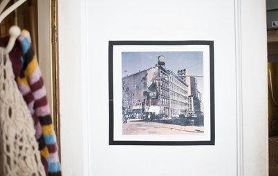 DIY : Transférez votre photo préférée sur une porte en bois